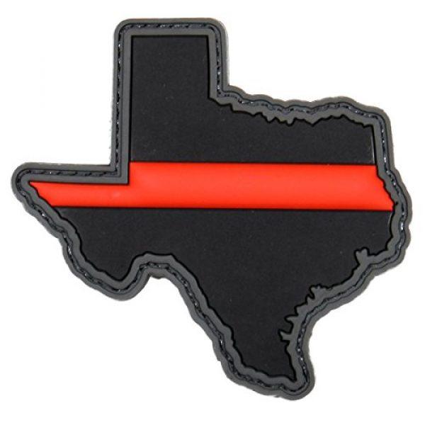 Violent Little Machine Shop Airsoft Morale Patch 1 Violent Little Machine Shop - Thin Red Line PVC Morale Patches (Texas)