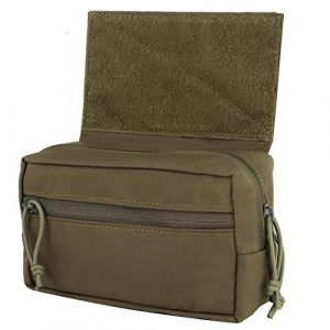 OAREA Tactical Pouch 1 OAREA Drop Pouch Sub Abdominal Carrying Kit Bag for Tactical Vest Chest Rig