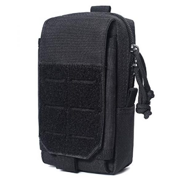 Azarxis Tactical Pouch 1 Azarxis Tactical EDC Pouch, Molle Utility Pouches Gadget Organizer Phone Holder Waist Pack IFAK Bag Smartphone Pouch Tool Holster Pocket