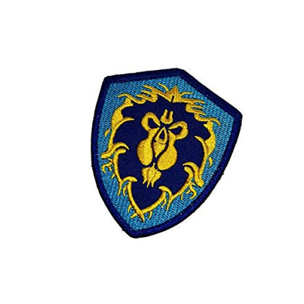 Embroidery Patch Airsoft Morale Patch 3 World of Warcraft Tribe Terran Military Hook Loop Tactics Morale Embroidered Patch