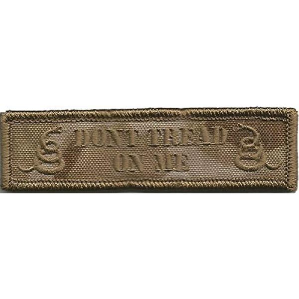 Gadsden and Culpeper Airsoft Morale Patch 1 MULTICAM ARID Tactical Morale Patch - Dont Tread Morale