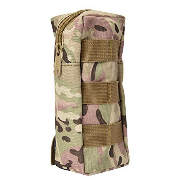 Pasamer Tactical Pouch 2 Pasamer Tacticals-Pouches,Nylon Waterproof Outdoor Camping Accessory Bags Hanging Waist Bag for Hiking Running Cycling Climbing Travel (CP)