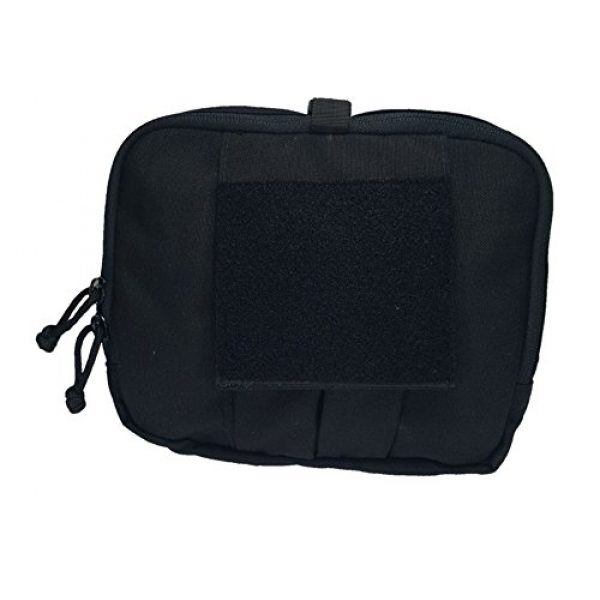 Ameratex Tactical Pouch 2 Ameratex Tactical Chest Pouch Rip Away Combat Medical Response Black