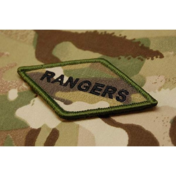 BritKitUSA Airsoft Morale Patch 2 BritKitUSA Multicam Rangers Diamond Morale Patch 75th Ranger Regiment Fort Benning US Army