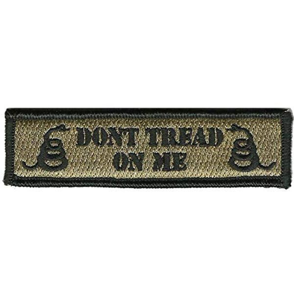 Gadsden and Culpeper Airsoft Morale Patch 1 Don't Tread On Me Tactical Morale Patch - Coyote Tan