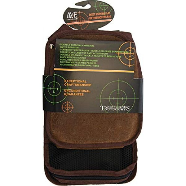 AA&E Leathercraft Tactical Pouch 1 AA&E Leathercraft Skeet/Sporting Clay Bag NRA2