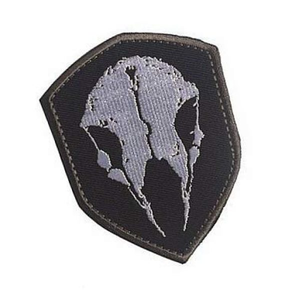 Embroidery Patch Airsoft Morale Patch 2 The Division Game LMB Skull Military Hook Loop Tactics Morale Embroidered Patch