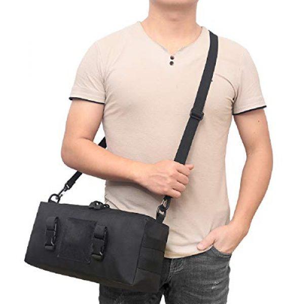 TRIWONDER Tactical Pouch 6 TRIWONDER Tactical Sling Bag Pack Molle Military Shoulder Bag Backpack Messenger Bag Utility Shoulder Satchel