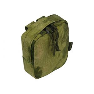 Tactic World Tactical Pouch 1 MOLLE Tactical Pouch Bag Small Transport Utilitarian (A-TACS FG)