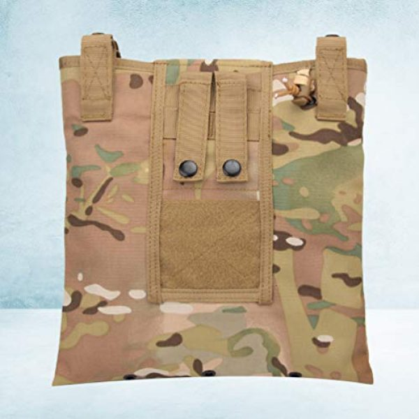 BESPORTBLE Tactical Pouch 7 BESPORTBLE Molle Utility Pouch Recycling Bag Vest Accessory Sundries Storage Field Equipment Holder for Cs Game Paintball Hunting (ACU Style)
