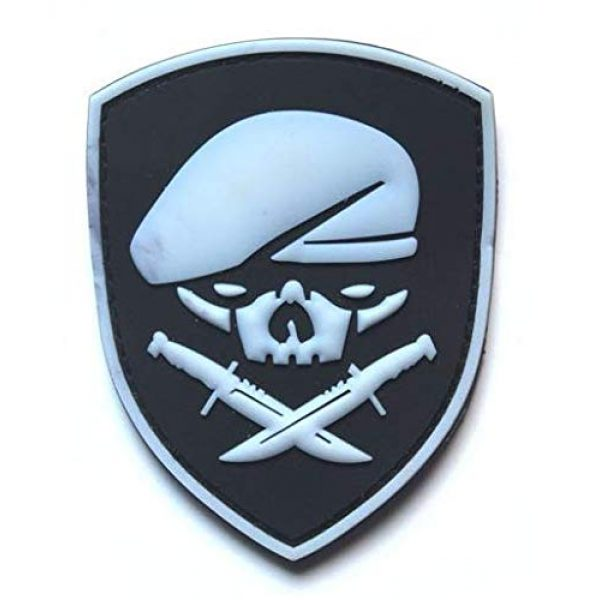 Tactical PVC Patch Airsoft Morale Patch 2 Ranger 75th Regiment AFO Delta Force Seals Medal of Honor MOH PVC Military Tactical Morale Patch Badges Emblem Applique Hook Patches for Clothes Backpack Accessories