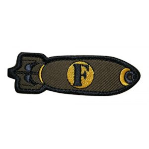 TrendyLuz USA Airsoft Morale Patch 1 TrendyLuz F-Bomb Morale Tactical Military Embroidered Hook & Loop Patch