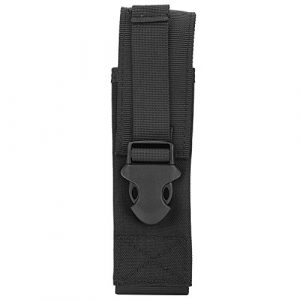 Dilwe Tactical Pouch 1 Dilwe Tactical Molle Pouch, Lightweight Practical Utility Military Molle Belt Bag Flashlight Holster for Tactics Accessory
