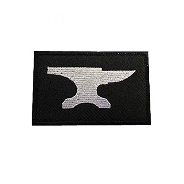 Embroidery Patch Airsoft Morale Patch 1 Blacksmith Military Hook Loop Tactics Morale Embroidered Patch