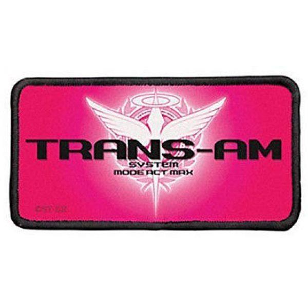 Fine Print Patch Airsoft Morale Patch 1 Mobile Suit Gundam Trans-am Patch Applique Military Hook Tactics Morale Patch
