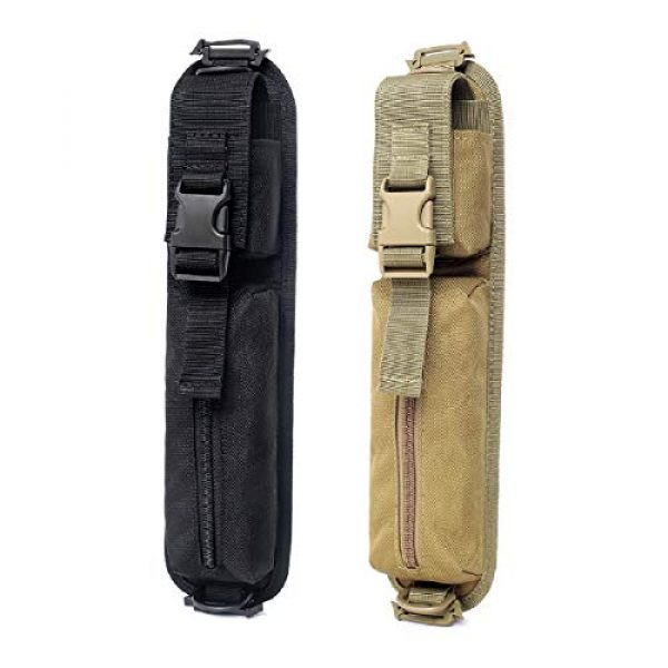 TRIWONDER Tactical Pouch 6 TRIWONDER Tactical Molle Accessory Pouch, Backpack Shoulder Strap Bag Shoulder Tape Additional Bag Multifunctional Hunting Tools Pouch