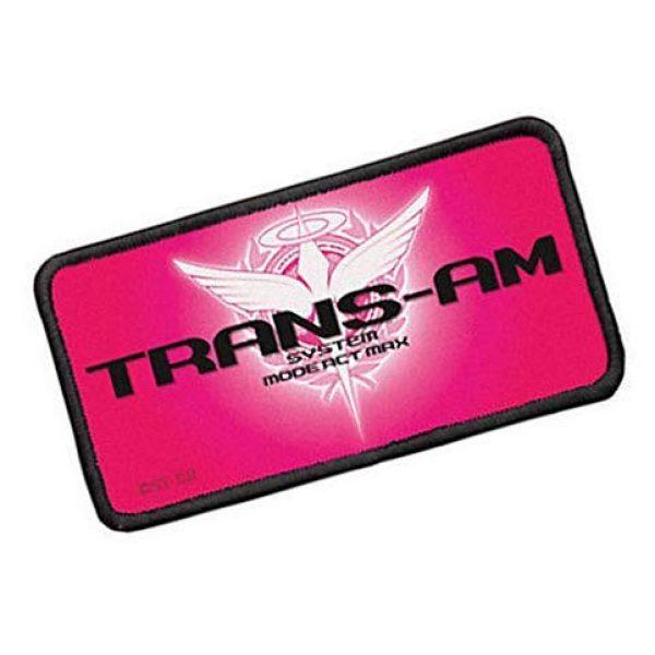 Fine Print Patch Airsoft Morale Patch 2 Mobile Suit Gundam Trans-am Patch Applique Military Hook Tactics Morale Patch