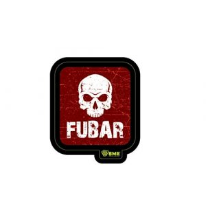 HME Airsoft Morale Patch 1 HME Hunting Made Easy SME-PAT-FUB Hunting Tactical Patches