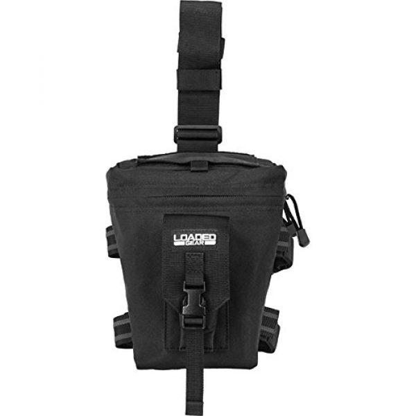 BARSKA Tactical Pouch 1 Barska Loaded Gear CX-300 Drop Leg Dump Pouch-Black