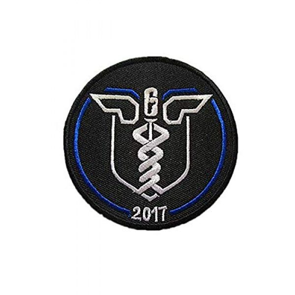 Embroidery Patch Airsoft Morale Patch 1 Rainbow SIX Delta Force Navy Seal Special Airsoft Softair Medic Military Hook Loop Tactics Morale Embroidered Patch