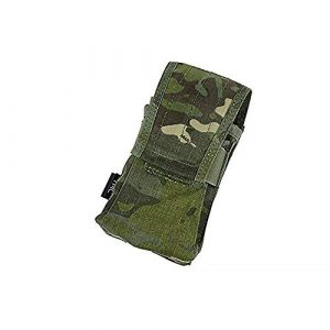 TMC Tactical Pouch 1 TMC Multicam Tropic Tactical Double Mag 417 Magazine Pouch for Airsoft Paintball