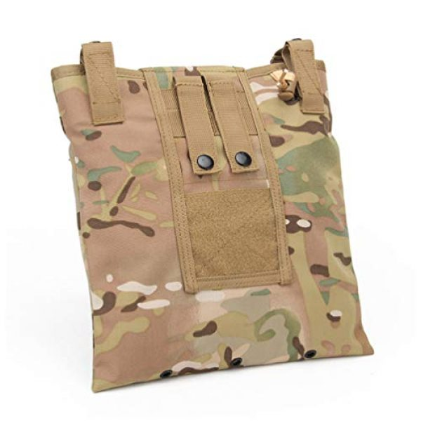 BESPORTBLE Tactical Pouch 4 BESPORTBLE Molle Utility Pouch Recycling Bag Vest Accessory Sundries Storage Field Equipment Holder for Cs Game Paintball Hunting (ACU Style)