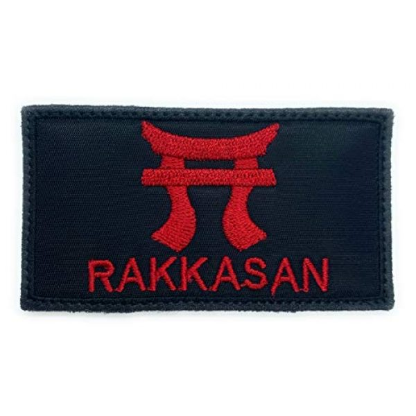 Almost SGT Airsoft Morale Patch 1 RAKKASAN - Funny Tactical Military Morale Embroidered Patch Hook Backing