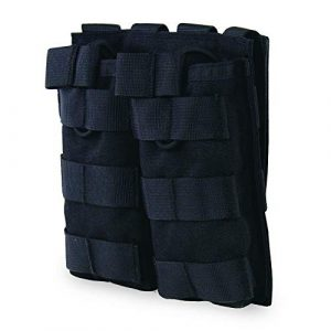 LEJUNJIE Tactical Pouch 4 LEJUNJIE M4 M16 AP15 Tactical Magazine Bag, Open Top Mag Bracket, Double Airgun MOLLE Mag Pouch