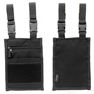 SOETAC Tactical Pouch 1 EDC Drop Leg Pouch Tactical for Belt Travel Neck Pouch Card Phone Holder Wallet Pocket Waist Pack