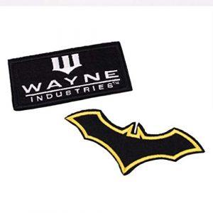 BATMAN Airsoft Morale Patch 1 Batman Emblem Patches Set for Bags, Coat, Jacket, Backpack, Ha,t Cap, Tactical Vest & More