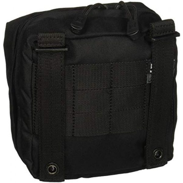 """5.11 Tactical Pouch 3 5.11 Tactical 6"""" x 6"""" Multi-Compartment Mesh Pockets Medical Pouch, YKK Zipper, Style 58715"""