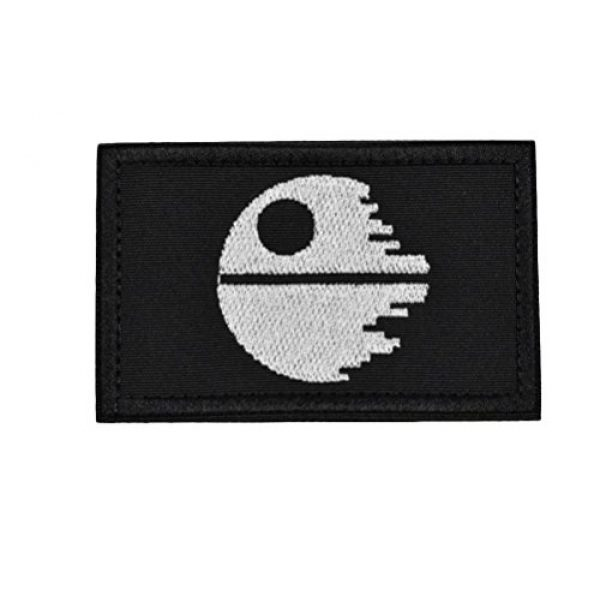 JFFCE Airsoft Morale Patch 1 Star Wars Morale Patch Tactical Military Morale Patches(Flyfish)
