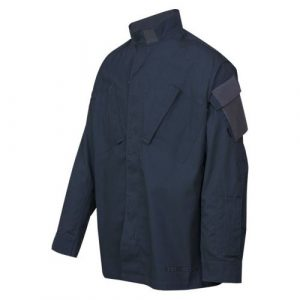 Tru-Spec Tactical Shirt 1 Xfire Shirts 80/20 Midnight Navy FR Tactical Response Uniform, Small, Regular 1671003