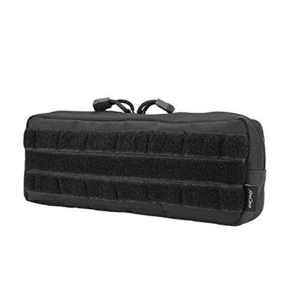 ProCase Tactical Pouch 2 ProCase Tactical Admin Pouch (Longer Size) Bundle with Tactical MOLLE Pouch (Higher Size)