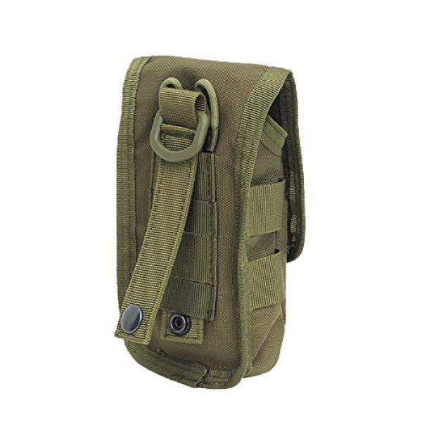 AegisTac Tactical Pouch 4 AegisTac Tactical Molle Phone Pouch EDC Utility Gadget Waist Bag Pack Cell Phone Case Smartphone Holster Bag