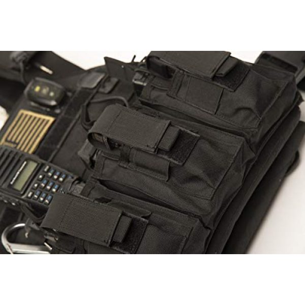 Antila Tactical Pouch 4 Antila Excelling Magazine Pouch for Pistol and Gun - High Speed, Secure and Durable. Bandana and 2 Great Ebooks Included