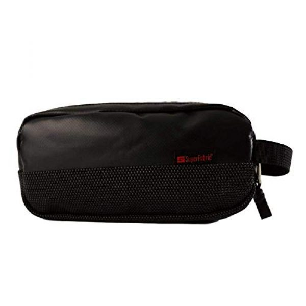 Amabilis Tactical Pouch 2 Amabilis Water Resistant, Bullet Proof Stash Capsule Dopp Kit, Toiletry Bag, Tactical Concealment and Small Items Storage Pouch, 7.5 x 4 x 1.5 Inches - 40 Cubic in