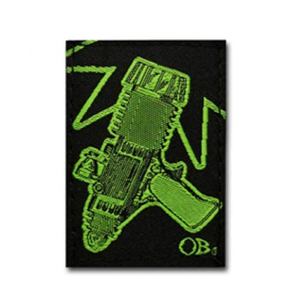 DIME BAGS Airsoft Morale Patch 4 Dime Bags Interchangeable Accessory Patches | Removable Patches for Bag Customization | Add Personality to Your Favorite Dime Bags Product - Bot, Pixel Alients, Space Gun