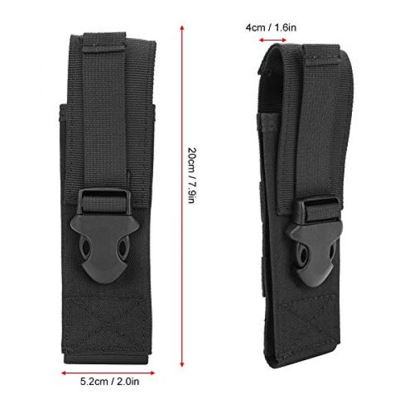 Salaty Tactical Pouch 5 Salaty Lightweight Tear Resistant Durable Military Belt Pouch, Tactic Pouch, for Outdoor