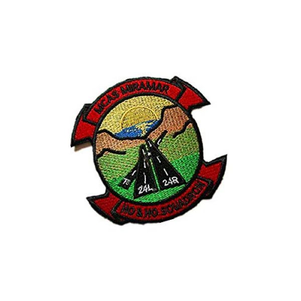 Embroidery Patch Airsoft Morale Patch 2 Marine Corps Air Station Miramar MCAS Miramar Military Hook Loop Tactics Morale Embroidered Patch