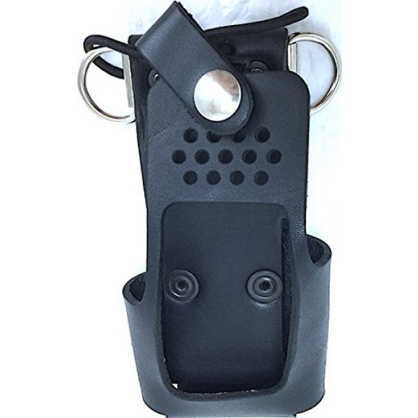 Boston Leather Tactical Pouch 1 Boston Leather Radio Holder For Motorola Ht 750/1250 -