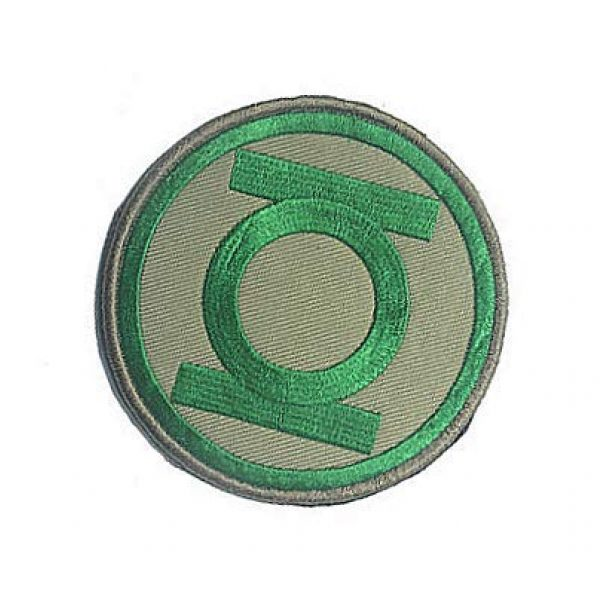 Embroidery Patch Airsoft Morale Patch 3 DC Comics Green Lantern Military Hook Loop Tactics Morale Embroidered Patch