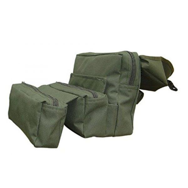 Condor Tactical Pouch 2 Condor Outdoor COP-MA20-001 Fold- Out Medical Bag44; OD Green