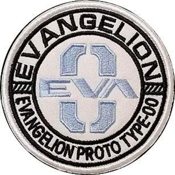 Embroidery Patch Airsoft Morale Patch 1 Mobile Suit Gundam Evangelion Eva Model 0 Military Hook Loop Tactics Morale Embroidered Patch
