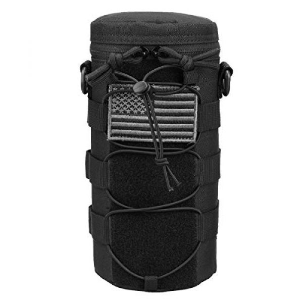 AMYIPO Tactical Pouch 1 AMYIPO Water Bottle Pouch Molle Tactical Holder Storage Bag for 32oz Carrier