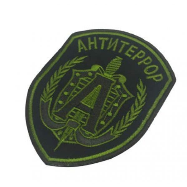 Embroidered Patch Airsoft Morale Patch 3 2pc Russian FSB Spetsnaz Alpha 3D Tactical Patch Military Embroidered Morale Tags Badge Embroidered Patch DIY Applique Shoulder Patch Embroidery Gift Patch
