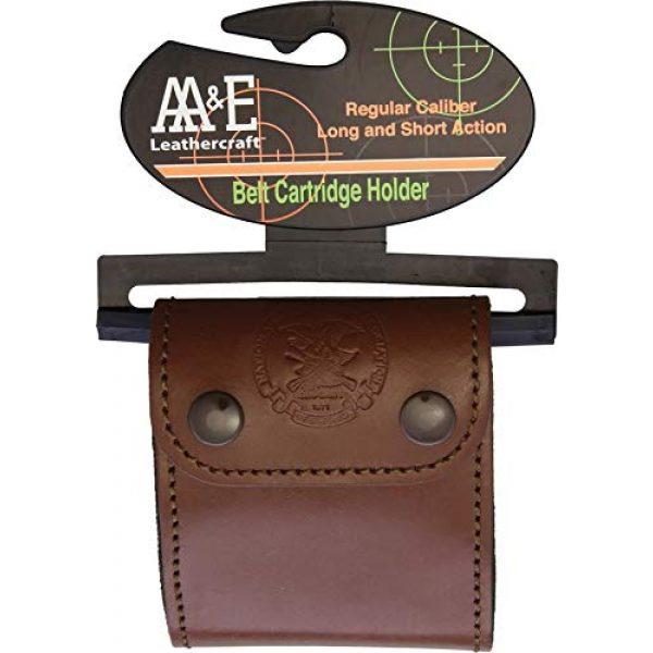 AA&E Leathercraft Tactical Pouch 1 AA&E Leathercraft Belt Cartridge Holder NRA5