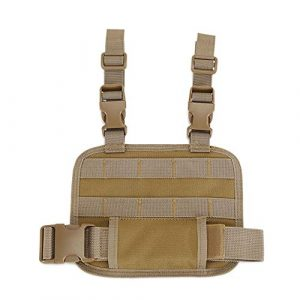 Sunnystacticalgear Tactical Pouch 1 Outdoor Sports Airsoft Gear Assault Combat Molle Pack Pouch Accessory Tactical Fast Molle Leg Strap Platform