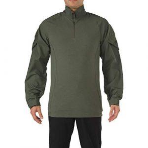 5.11 Tactical Shirt 1 5.11 Tactical Men's Rapid Assault Long Sleeve Shirt, Poly/Cotton Ripstop, Shoulder Pockets, Style 72194
