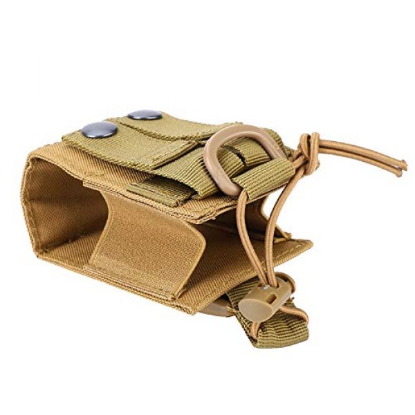 Hoseten Tactical Pouch 1 Durable Radio Holder, Radio Case, Portable Cosplay Tool Camping Bag for Outdoor Sports